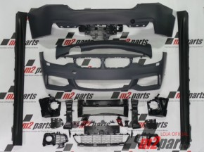 KIT M/ PACK M BMW Serie 4 Gran Coupe (F36) BODYKIT COMPLETO ABS Novo