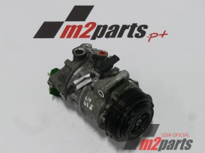 Compressor de ar condicionado MERCEDES-BENZ C-CLASS (W205)/MERCEDES-BENZ C-CLASS T-Model (S205)/MERCEDES-BENZ C-CLASS Coupe (C205)/MERCEDES-BENZ C-CLASS Convertible (A205)/MERCEDES-BENZ GLC Coupe (C253)/MERCEDES-BENZ GLC (X253)/MERCEDES-BENZ V-CLASS (W447)/MERCEDES-BENZ VITO Box (W447)/MERCEDES-BENZ VITO Mixto (W447)/MERCEDES-BENZ VITO Tourer (W447) Cor Unica Semi-Novo