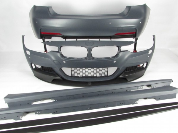 KIT M/ PACK M PERFORMANCE BMW Serie 3 Carro (F30, F80) BODYKIT COMPLETO ABS Novo