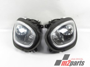 Conjunto Faróis LED MINI COUNTRYMAN (F60) Semi-Novo