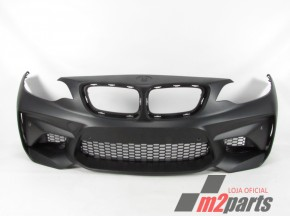 Parachoques LOOK M2 Frente Novo/ ABS BMW/2 Coupe (F22, F87)/220 d | 10.12 - 11.14/220 i | 10.13 - /M 235 i | 10.13 - /218 d | 01.14 - /225 d | 01.14 - /M 235 i xDrive | 07.14 - /228 i | 07.14 - /220 d | 03.14 - /218 i | 03.15 - /220 d xDrive | 06.14 - /218 d | 07.15 - /225 d | 07.15 - /220 d | 11.14 - /220 d xDrive | 03.15 - /M2 | 11.15 - 06.18/220 i | 09.15 - /230 i | 09.15 - /M 240 i | 09.15 - /M 240 i xDrive | 09.15 - /M2 Competition | 06.18 - /2 Convertible (F23)/220 i | 04.14 - 07.16/228 i | 11.14 - /M 235 i | 11.14 - /220 d | 03.14 - /218 i | 03.15 - /218 d | 07.15 - /225 d | 07.15 - /M 235 i xDrive | 07.15 - /220 i | 09.15 - /230 i | 09.15 - /M 240 i | 09.15 - /M 240 i xDrive | 09.15 -  REF. 1235452